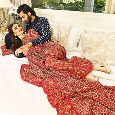 Pakistani couture Muse bridals- A love like ours Ft. Sadaf Kanwal & Hasnain Lehri