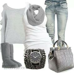 Winter outfit, very comfy