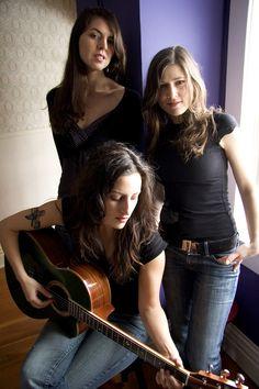 The Wailin' Jennys- wonderful harmonies.  these ladies are fantastic live performers.