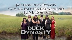 Jase Robertson!!!!!  Yes, Jase of Duck Dynasty will be at Central June 15 & 16!  Don't miss it!  #duckdynasty #centralonline #jaserobertson