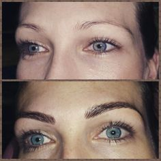 Beautiful 3D Microblading hairstroke Eyebrows & Eyeliner By Tina@EMBELLISHYOU