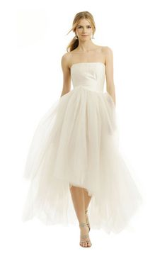 Allison Parris silk and tulle gown, am I in heaven?!