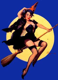 One of my favorite Halloween pin-up girls!