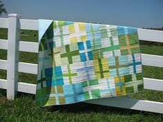 Quilt from the liberated cross blocks from Lollyquiltz: Anniversary Crosses