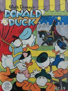 Donald Duck 1956 (Sinterklaas cover)