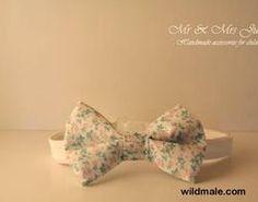 Bow Tie, pre-tied bow tie, adjustable bowtie, floral tie, pastel color, cotton, kids occasion, boys accessories, family look, wedding, - http://wildmale.com/bow-tie-pre-tied-bow-tie-adjustable-bowtie-floral-tie-pastel-color-cotton-kids-occasion-boys-accessories-family-look-wedding