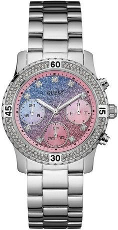 f2168acd4 GUESS Women's Blue and Pink Gradient Sport Watch. I love this one too! #.  Brilhos RosaRelógio ...