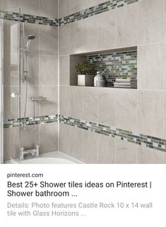 Best 13 Bathroom Tile Design Ideas House Pinterest Awesome Showers And Designs