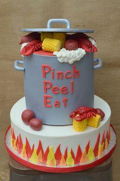 Crawfish Boil Cake on Cake Central