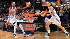 Dewanna Bonner & Marta Xargay 01. Basketball Court, Sports, Hs Sports, Sport, Exercise