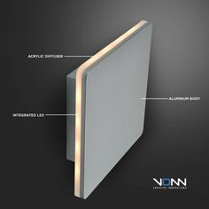 The Eclipse Wall Light by VONN Lighting makes for a visually stunning piece despite its minimalistic form. The clean square shape of this fixture creates a minimalistic design that befits a modern home setting, the integrated LED light wi. Led Flush Mount, Natural Phenomena, Timeless Elegance, Ceiling Lamp, Minimalist Design, Contemporary, Modern, Wall Lights, Light Led