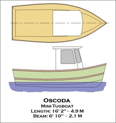 Trailerable Houseboat Plans | Mini Tugboat Plans The Faster & Easier Way How To DIY Boat Building ...