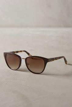 Bobbi Brown Rowan Sunglasses Brown All Eyewear #anthrofave