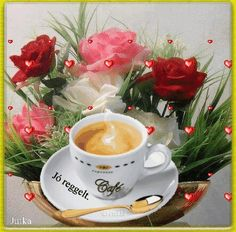 Osztva Mornings, Good Morning, Tea Cups, Jute, Friday, Pictures, Buen Dia, Bonjour, Acre