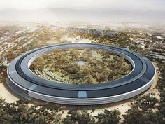 Brand-New Pictures Of Apple's Amazing Spaceship Campus