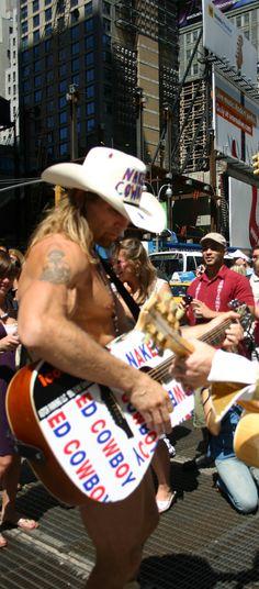 nyc naked cowboy :)