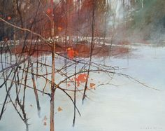 oil on canvas<br> Contact White Rock Gallery 1-877-974-4278 David Lidbetter Fine Art