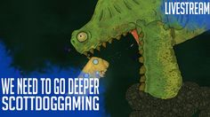 We Need To Go Deeper Gameplay Let's Try with the SaturdayMorningGamers ScottDogGaming  https://youtu.be/4zRG0NHj_S0 We Need To Go Deeper - Live Stream ScottDogGaming 00:04:20 We Need to Go Deeper is a 2-4-player cooperative submarine rogue-like set in a Verne-inspired undersea universe. In the game you and your crew must embark on many voyages into a mysterious undersea trench known as The Living Infinite. In The Stream True Friends Gaming…