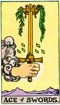 Ace of Swords - powerful and in control