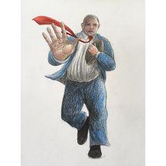 'Office Prop' #rugby #office #rwc2015 #drawing #drawingoftheday #pencil #sketch #sketchaday #illustration #image #drawn #sketchbook #doodle #art #artwork #artist #artshow #artgallery #newartwork #fineart #myart #artnews #artinfo #creative #color #colour #arte #artwork #carandache