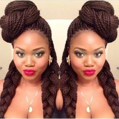 Lovinu0027 This Senegalese Twist Hairstyle