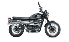 Doctor Who Bells of Saint John motorcycle: Triumph Scrambler. My new wish item