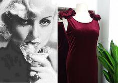 Red Velvet Dress, Old Hollywood Glamour, Vintage Velvet, Retro Dress, Plus Size Dresses, Vintage Dresses, Ball Gowns, Prom Dresses, Ball Gown