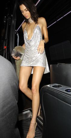Kendall Jenner Ups the Ante With a Glittery and Very, Very Bare 21st Birthday