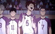 Haikyuu Kageyama, Haikyuu Funny, Haikyuu Fanart, Haikyuu Anime, Kenma, Videos Anime, Anime Songs, Anime Films, Bts Anime