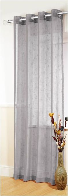 We have the UK's largest choice of Boston Silver Voiles & Voile Panels available to buy securely on line, with fast delivery from our very own on site workshops Living Room Decor Curtains, Kitchen Curtains, Bedroom Decor, Living Rooms, Bedroom Curtains, Living Area, Voile Panels, Voile Curtains, Curtains With Blinds
