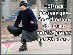 #amadurecer #envelhecer #atitude