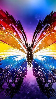 Colorful Wallpaper Cool Wallpaper Beautiful Images Butterfly Art Beautiful Butterflies Art