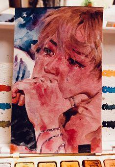 Fanart of Jimin at CF (World tour) Jimin Fanart, Kpop Fanart, Kpop Drawings, Aesthetic Art, Bts Wallpaper, Cute Art, Art Inspo, Art Sketches, Amazing Art