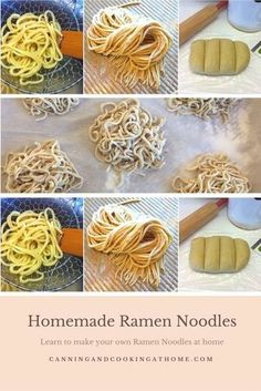 How about making your own Homemade Ramen Noodles. These can be cooked fresh or even from frozen. How about making your own Homemade Ramen Noodles. These can be cooked fresh or even from frozen. Ramen Recipes, Asian Recipes, Cooking Recipes, Homemade Ramen Noodle Recipes, Cooking Ham, Indonesian Recipes, Cooking Salmon, Orange Recipes, Recipies