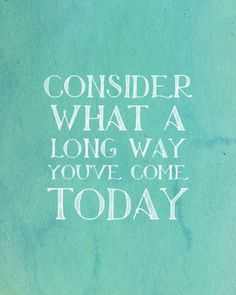 Today is the better than yesterday!