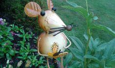 Mäuschen, im Terrassenbeet heimisch....