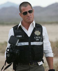 George Eads - what is it about a man with a pair of shades in a uniform that just, mmmm.  :)