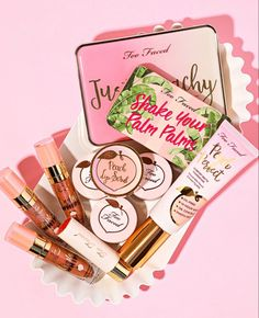 Innovative makeup and beauty products from Too Faced Cosmetics. Find trendsetting cruelty-free makeup and tips on how to apply our top-selling products for ultimate perfection. Too Faced Make Your Own Makeup, Make Makeup, Makeup Tips, Beauty Makeup, Makeup Looks, Makeup Style, Makeup Ideas, Makeup Before And After, Perfect Peach