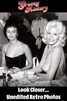 Vintage Photos Not Suitable For History Books And You'll Immediately See Why Unedited Photos, Jayne Mansfield, Leopard Dress, Gorgeous Women, Beautiful, Sophia Loren, Look At You, History Books, Back In The Day
