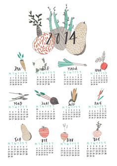 New Wall Calendar limited edition of 100 available on my shop here… move themes to come tomorrow!!! https://www.etsy.com/uk/listing/171669482/wall-calendar-art-print-art-calendar?ref=shop_home_active