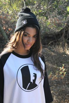 When she wears it better than you.  Unisex baseball tee representing the board life by Bonfire Junkie