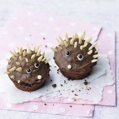 Igel-Muffins Rezept   Küchengötter