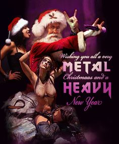 heavy metal christmas - Google Search