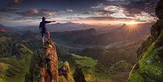 Bellissimi panorami di montagna di Max Rive - http://www.ahboh.it/panorami-montagna-max-rive/