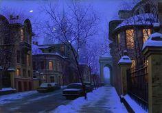 """Nightfall"" by Alexei Butirskiy My all time favorite artist!!!!"