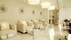 spa by bardot nail salon interior design