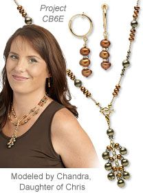 Wear it 4 Ways: Cultured Freshwater Pearl and Pyrite Gemstone Necklace with Detachable Tassel Pendant