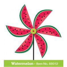 Forever Garden Kids Watermelon Spinwheel. Real wood spinner.