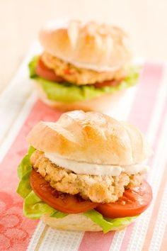 Salmon Burgers #pauladeen
