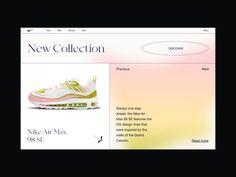 Nike | UI Design concept by Giga Tamarashvili for Bold Monkey on Dribbble Cake Branding, Branding Design, Web Layout, Layout Design, Custom Website, Ui Web, Boho Designs, Web Design Inspiration, Designer